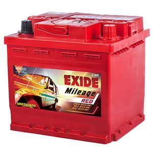 Exide mileage red battery emdin50