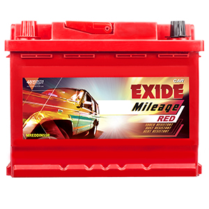 Exide mileage red SWIFT BATTERY MRDIN55R