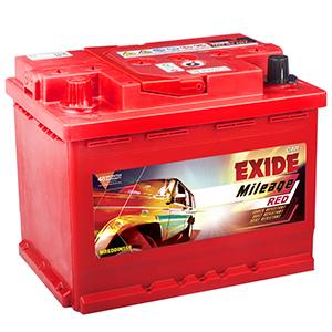 Exide automotive mileage Battery CAR BATTERY FOR  INDICA VISTA mreddin55r midin55r