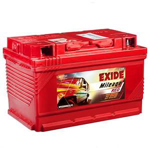 Exide mileage red swift car battery MREDDIN65LH