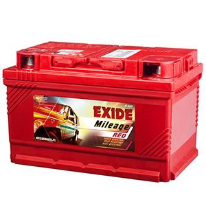 Exide mileage red maruti ertiga battery MIDIN65LH