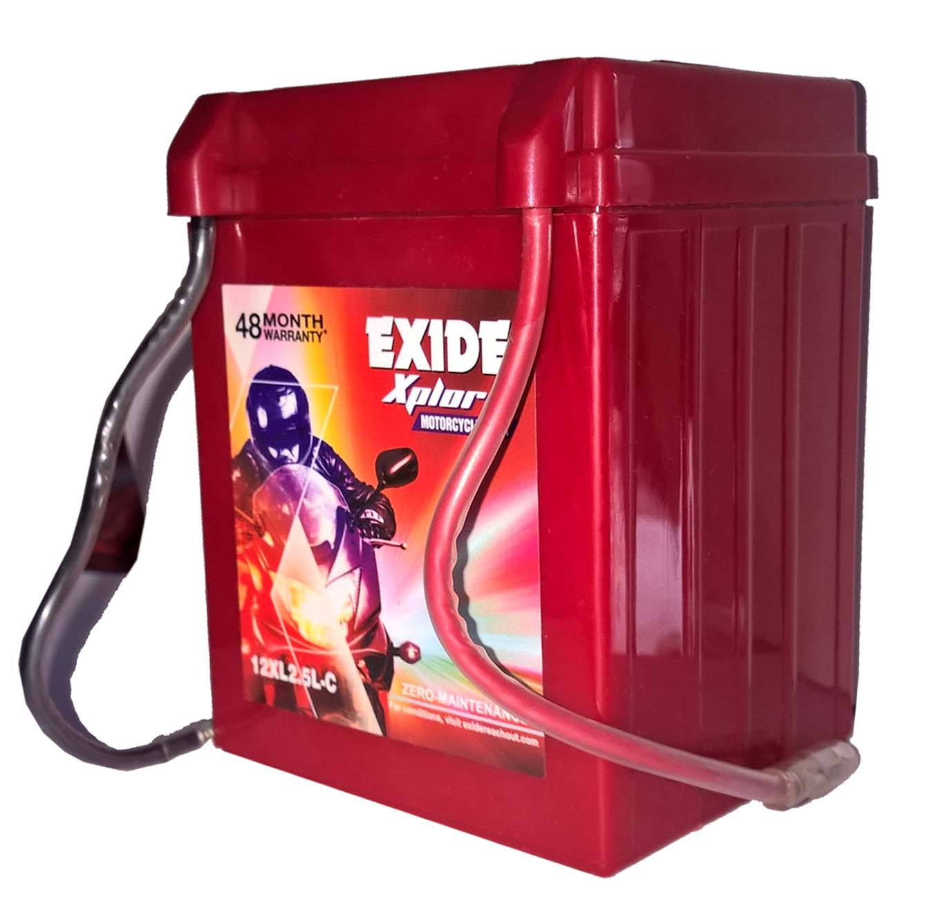 Exide xplore buy splendor cd deluxe yamaha without self BATTERY sealed XL2.5LC