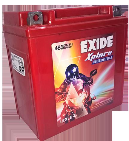Exide pulsor Battery