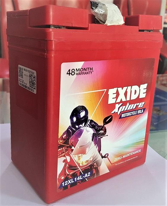 Exide Bullet Battery