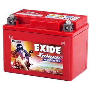 Exide xplore hf deluxe battery etz 3
