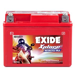Exide xplore without self battery xplore xltz 3