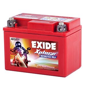 Exide xplore new model honda activa battery etz 4