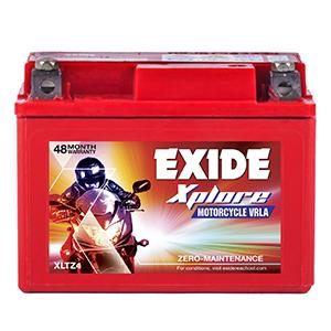 Exide xplore cd deluxe self start battery xltz 4