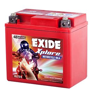 Exide xplore tvs wego new model battery etz5