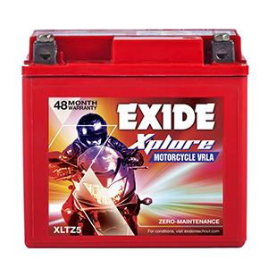 Exide xplore wego battery xltz 5