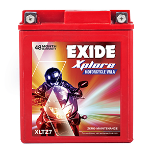 Exide xplore 6ah battery etz7