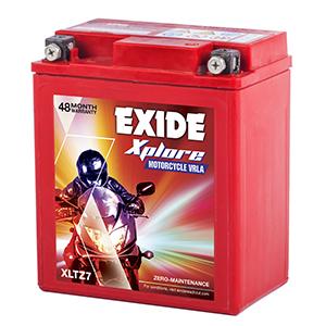 Exide xplore centuro battery xplore xltz7