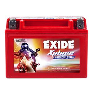 Exide xplore bajaj pulsor 200 cc battery ETZ9