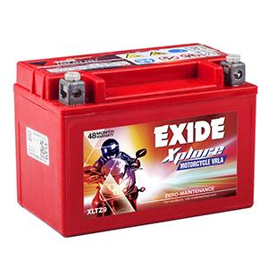 Exide ktm duke bullet Battery