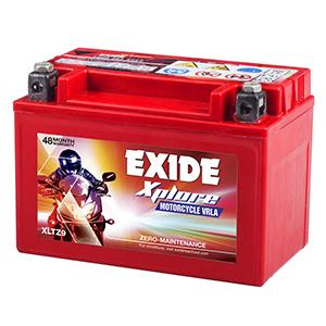 Exide xplore 2016 and above royal enfield bullet battery XPLORE XLTZ9