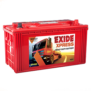 Exide xpress 1000 tractor battery for 100 ah