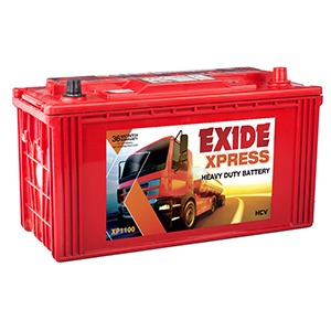 Exide xpress xp1100 truck battery 110 ah