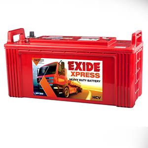Exide xpress 130ah battery for jbc