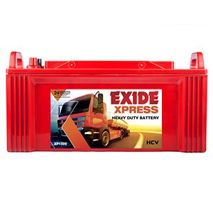 Exide xpress xp1500 150ah battery for truck