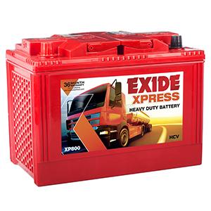 Exide Heavy Duty Express Truck Battery XP800