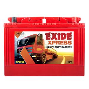 Exide xpress xp800 mhd800 80 ah battery
