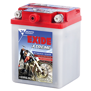 Exide Xtreme Without Self battery XT2.5LC