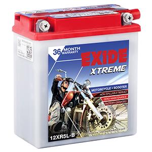 Exide Xtreme BULLET ELECTRA BATTERY xt5lb