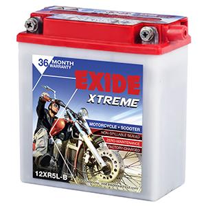 Exide xtreme ROYAL ENFIELD battery xr5lb