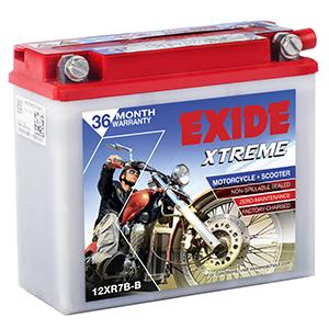 Exide xtreme mahindra duro BATTERY XR7B-B