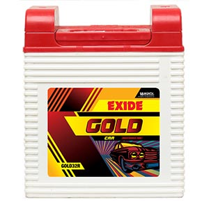 Exide litle champ battery for tractor 100 ah