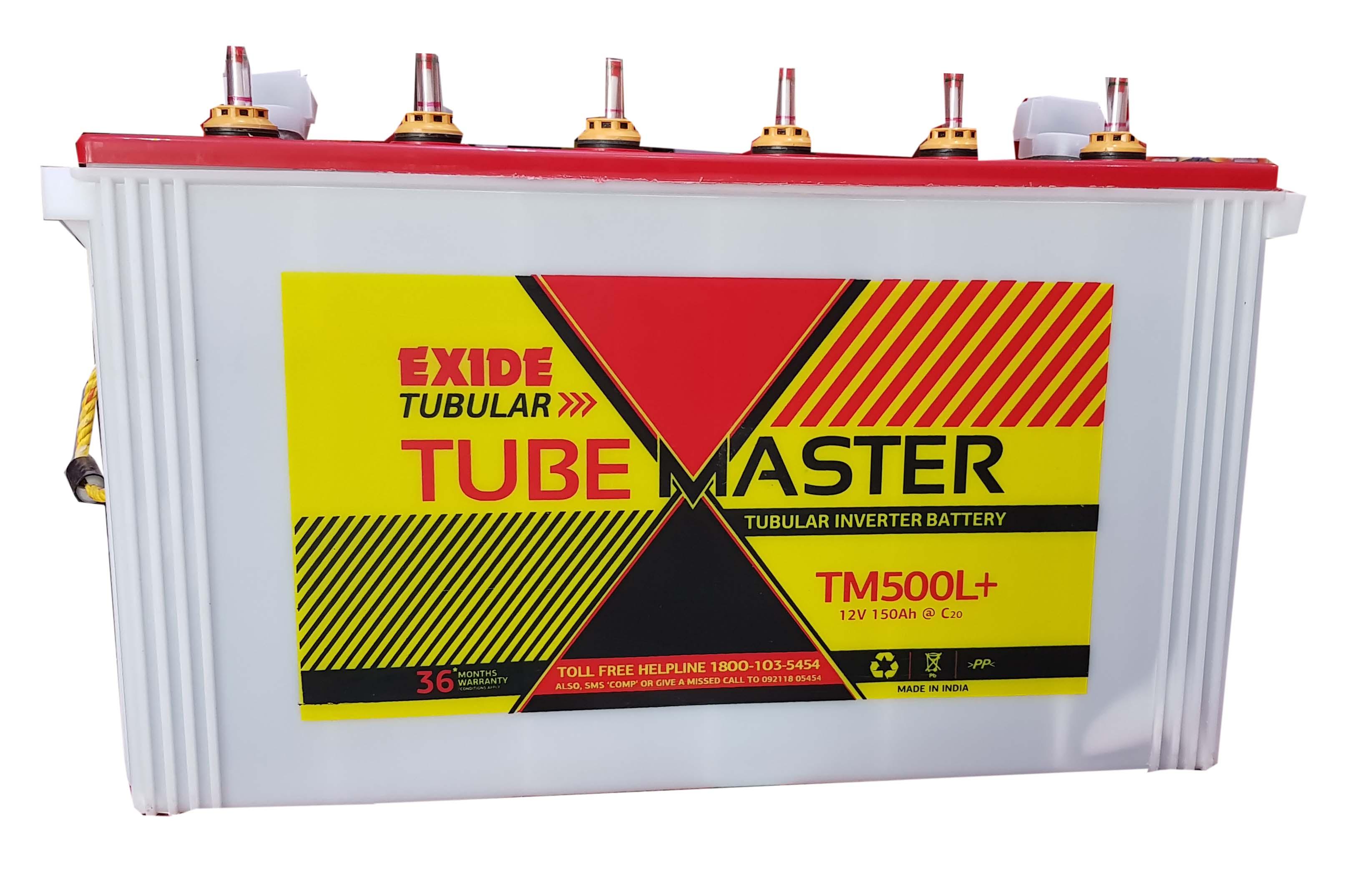 Exide 150 ah Tubular Tubemaster inverter battery