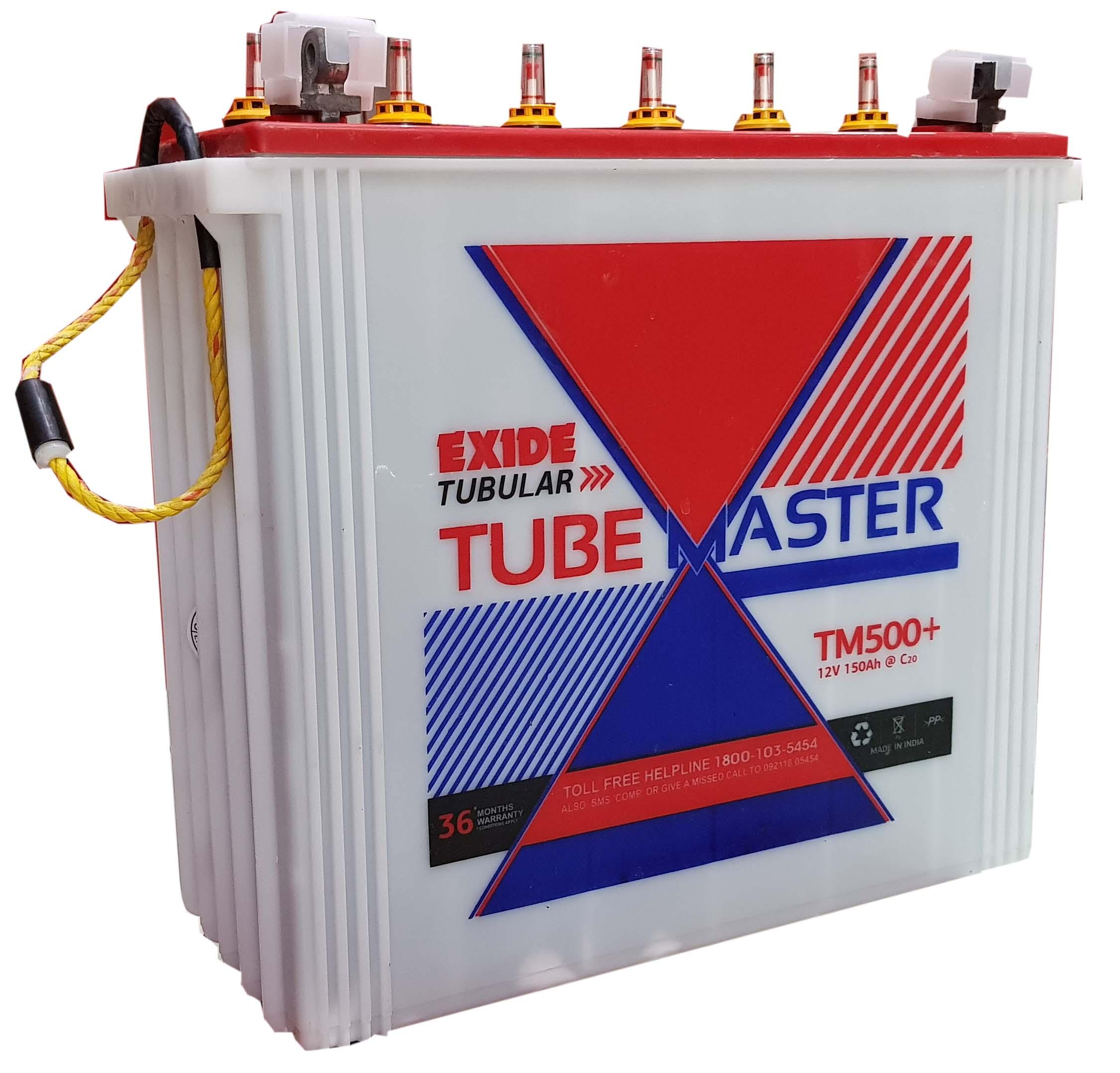 TubeMaster inverter Battery
