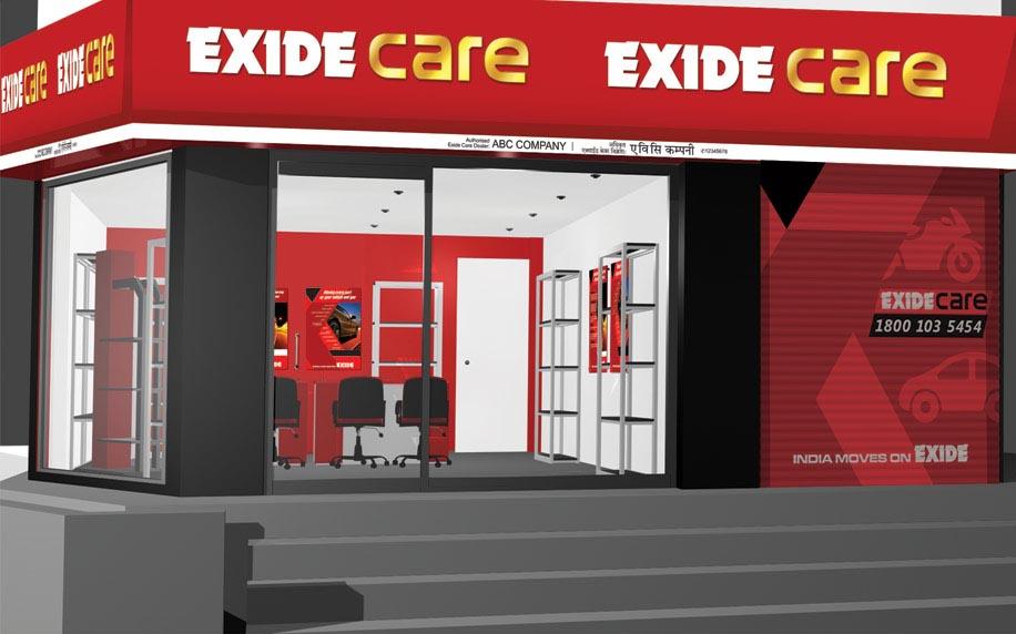 Exide Care showroom