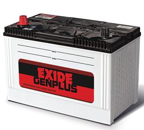 Exide Genplus genrator Battery