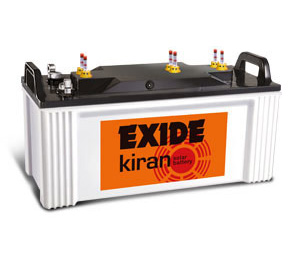 Exide kiran solar panel Battery