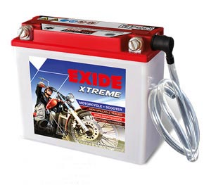 Exide extreme Motorcycle Battery