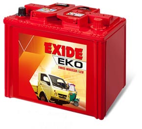 Exide eko Three wheeler Battery