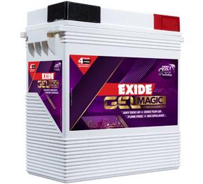 Exide Gelmagic sealed dry inverter Battery
